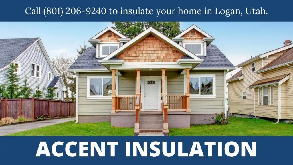 Logan UT home insulation